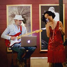 Javier Montoya & Jackie Lopez Live at The White Rabbit Bar