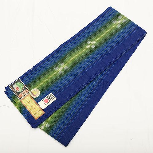 八重山ミンサー織 半巾帯