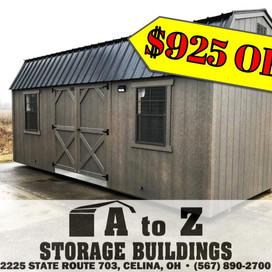 """The Grant"" 10x20 Smart Barn Sale Price $6478.76 (Valid until Aug. 2)"