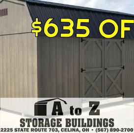 10x16 Smart Barn Sale Price $5417.02 (Valid until Aug. 2)