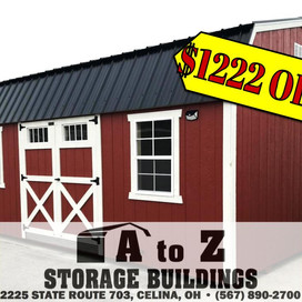 """""""The Garfield"""" 12x20 Painted Smart Barn Sale Price $8560.82 (Valid until Aug. 2)"""