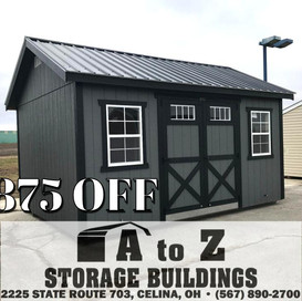 12x16 Painted Deluxe  Sale Price $7476.35 (Valid until Aug. 2)
