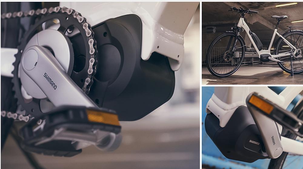 E-bike middenmotor Shimano Steps