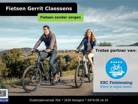 KBC Fietsleasing partner