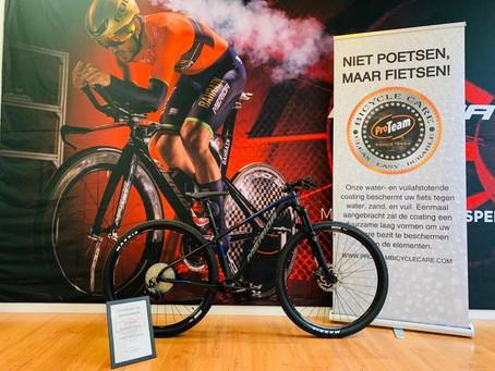 Premium Bike Wash, want een propere fiets gaat langer mee