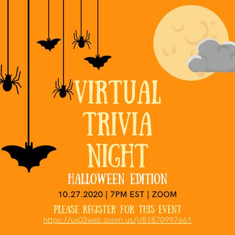 Virtual Trivia Night Halloween