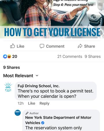 DMVに行きたくても予約できない!