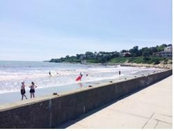 Clean beaches