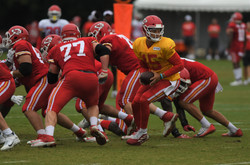 Mahomes and the offense