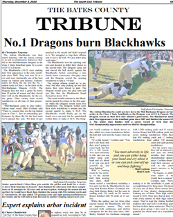 Front page sports