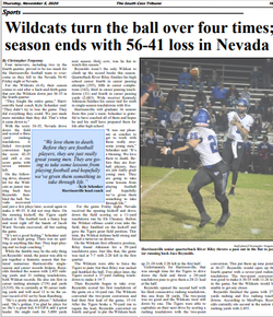 Football game story