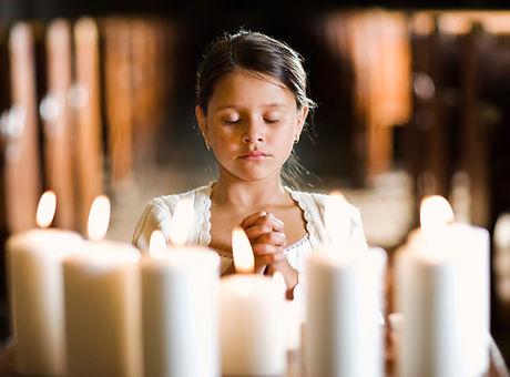 prier fille