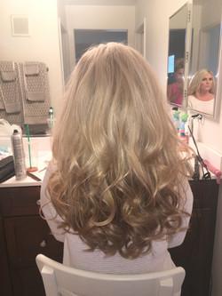 Bridal Photo Shoot Curls