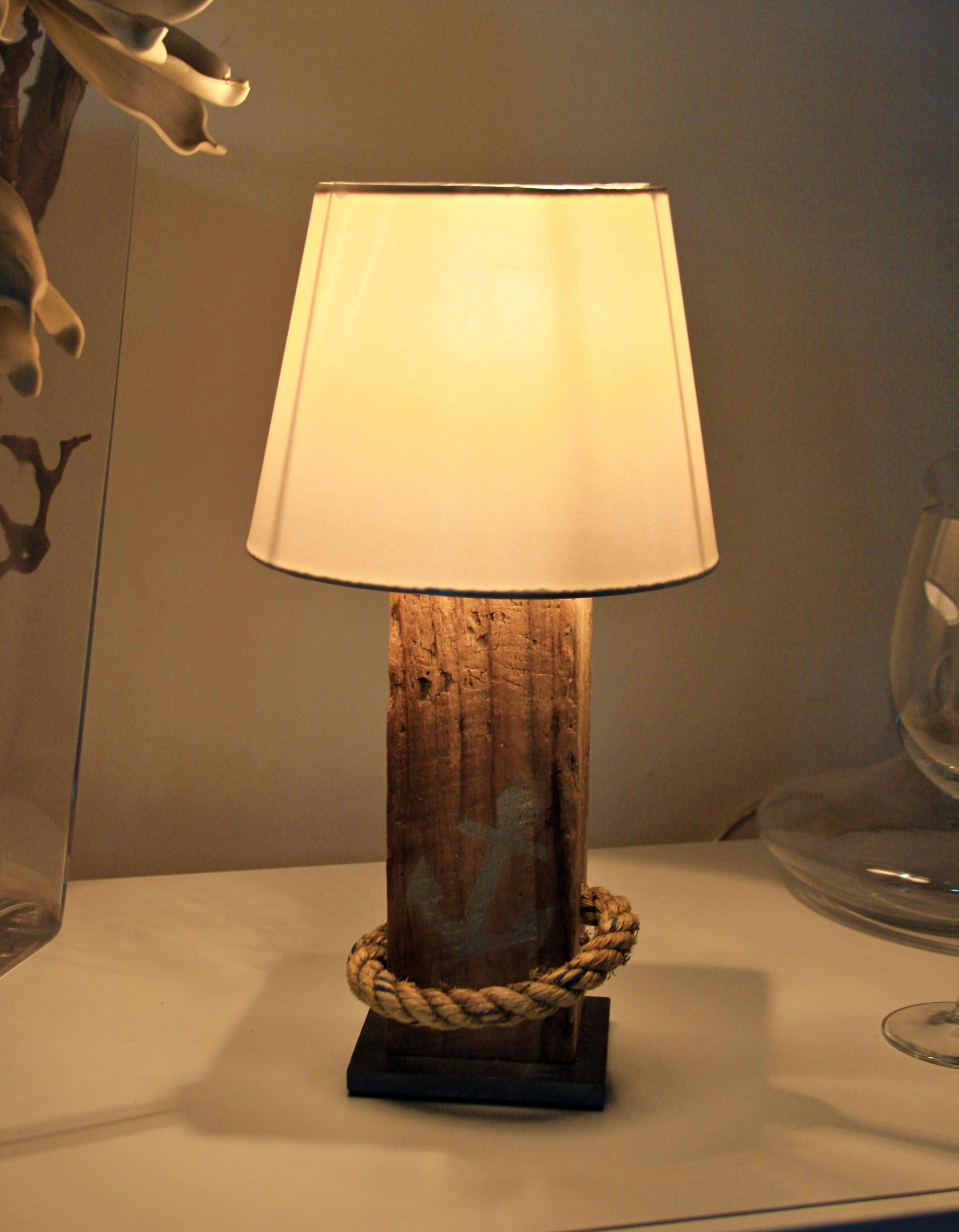 Tischlampe Anker-Seeseil