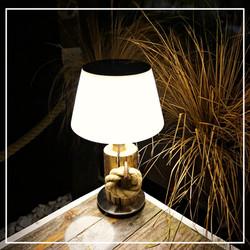 SOLAR LED Tischlampe