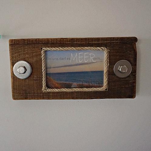 Treibholz Bilderrahmen zum Stellen oder Aufhängen