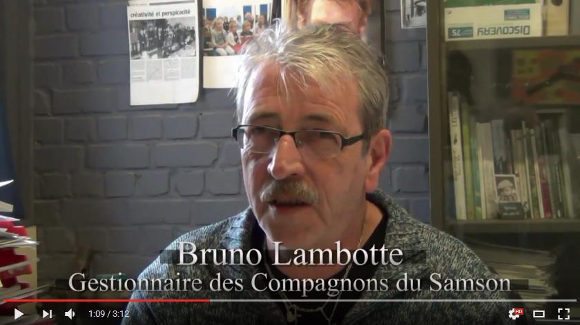 Bruno Lambotte intervieuwé par l'UVCW