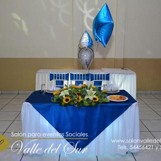 Montaje azul petróleo promocional $219