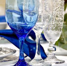 Montaje azul pretróleo