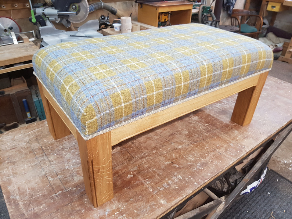 Upholstered Bench Seat
