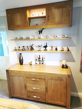 Cupboards and Floating Shelves