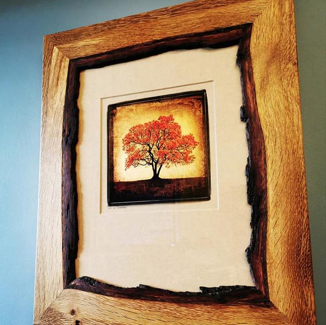 Waney Oak Frame