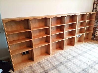 Custom Made Oak Bookcase