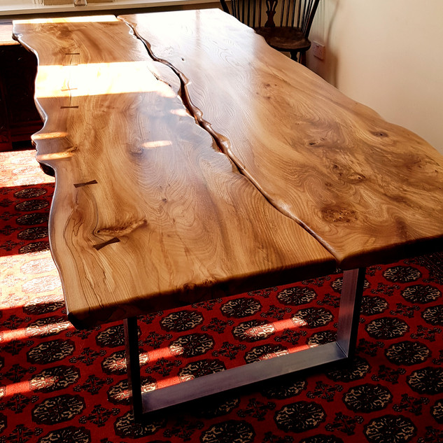 Two Plank Table