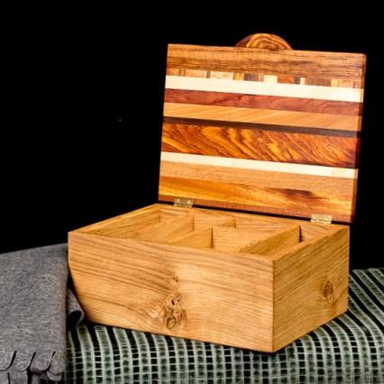 'Autumn' Box with Tray