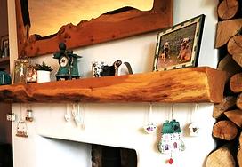 Oak Mantelpiece