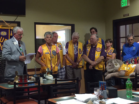 2016-08 Benicia Lions Officers Installat