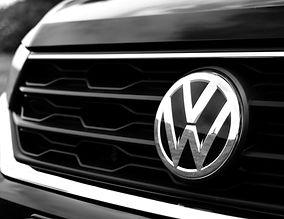 De grill van de Volkswagen T-Roc van Autorijschool Torenstra