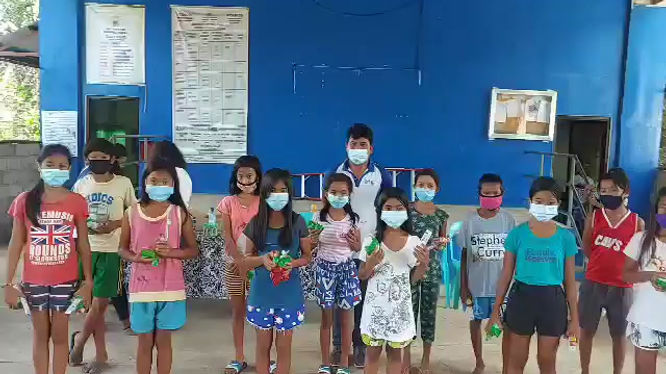 Thank you from San Ambrocio Elementary - 1