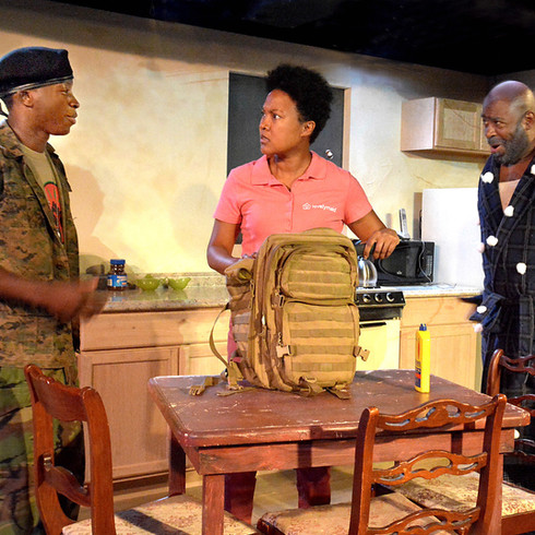 On The Stage   Lower Depth Theatre Ensemble presents Br'er Cotton by Tearrance Arvelle Chilsom.  Directed by Gregg T. Daniel.
