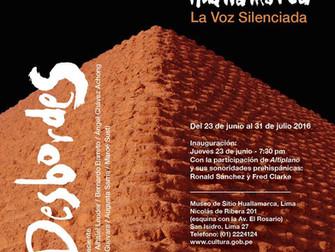 Huaca Huallamarca exhibición - Huaca Huallamarca gallery exhibit - 6/2016