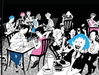 Digital Mural for Suspiro Cafe