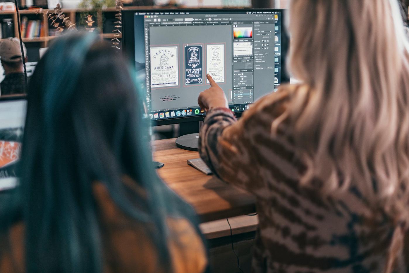Kaleidoscopic Creative Graphic Design