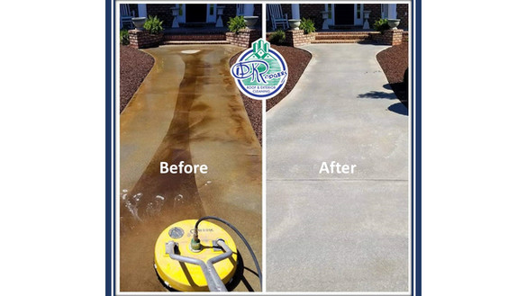 Before & After Residential - Walkway w l