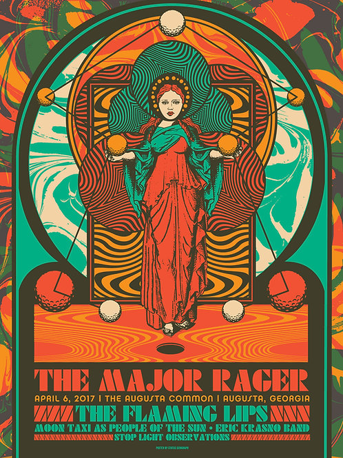 The Major Rager 2017 Poster