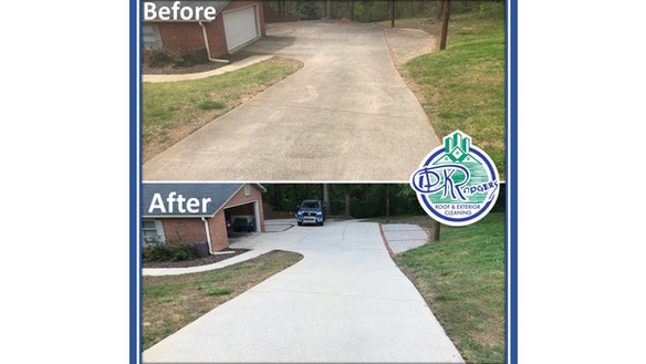 Before & After - Residential Driveway &