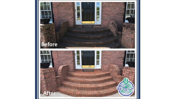 Before & After Residential - Front Entra
