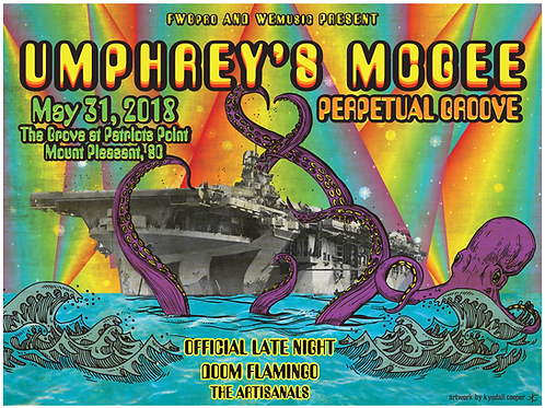 Umphrey's McGee w/ Perpetual Groove Poster