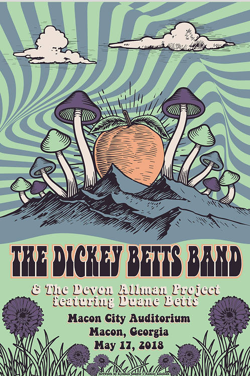 Pre-Order Dickey Betts Band Poster