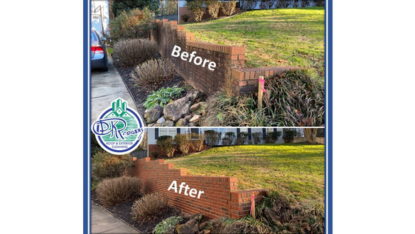 Before & After Residential - Retaining W