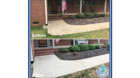 Before & After - Residential Walkway Cle