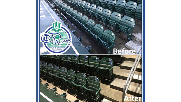 Before & After Commercial - Stadium Seat