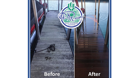 Before & After Residential - Boat Dock w