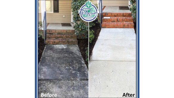 Before & After - Residential Entryway an
