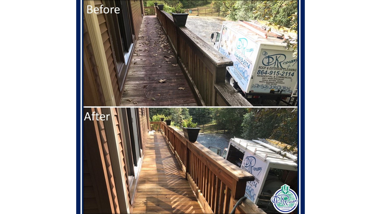 Before & After Residential - Wood Deck C