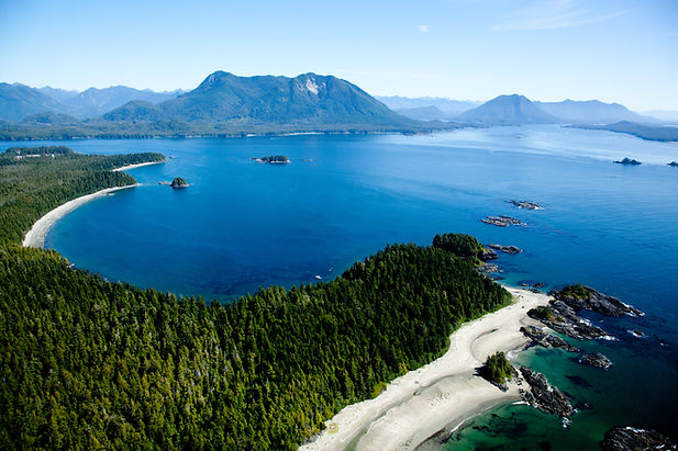 Clayoquot Wilderness Resort available for booking through Thornton-Hall Travel, a luxury travel agency in Greenville SC Heli-Sightse